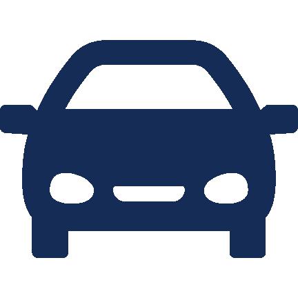 Anfahrt Fahrzeug